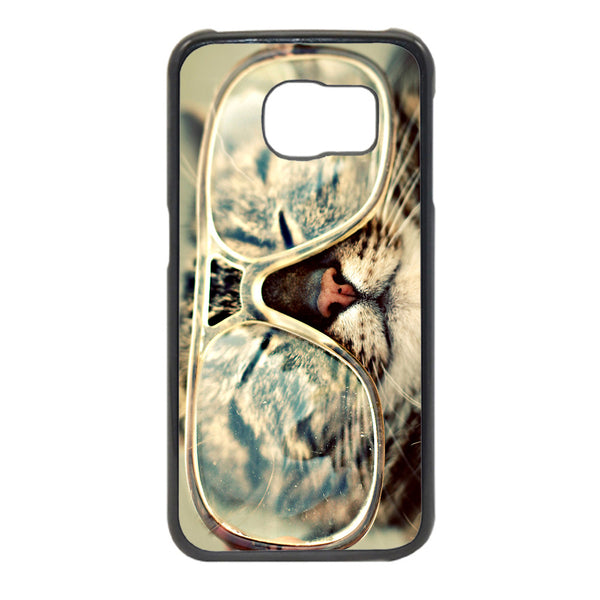 Cat With Glas Phonecase for Samsung Galaxy S6