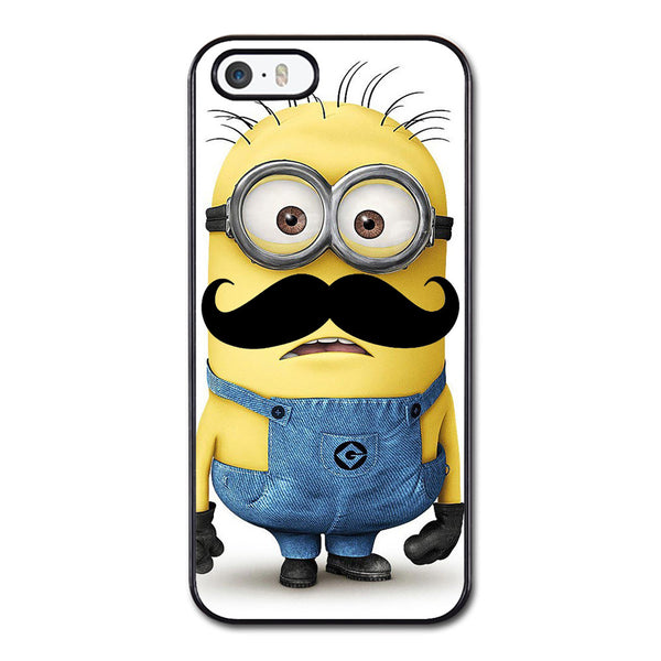 Despicable Me Mustache Minion Phonecase for iPhone 5/5S Case