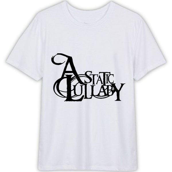 A Static Lullaby T Shirt Unisex for Men's and Women's Cotton T-Shirt Color White