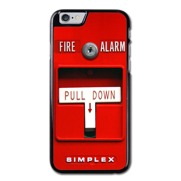 Fire Alarm Phonecase for iPhone 6/6S Plus