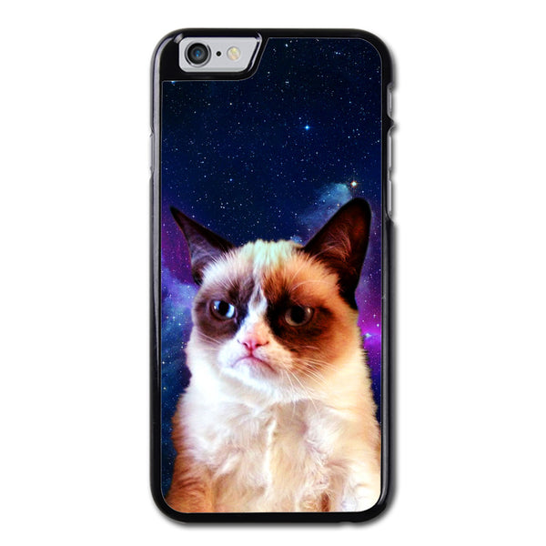 Funny Galaxy Stylish Grumpy Cat Phonecase for iPhone 6/6S Case