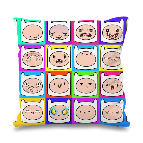 Funny Finn Face Time Adventure Pillowcases Pillow Cases