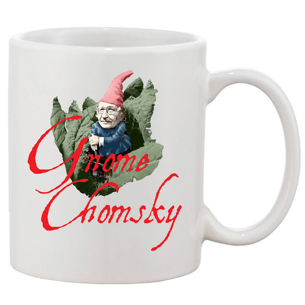 Gnome Chomsky White 11 oz. Printing Ceramic Coffee Mug