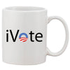 I Vote Obama Mug 11oz Ceramic