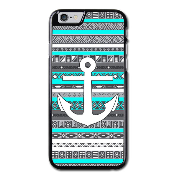 Ice Mint Blue Grey Anchor Phonecase for iPhone 6/6S Case