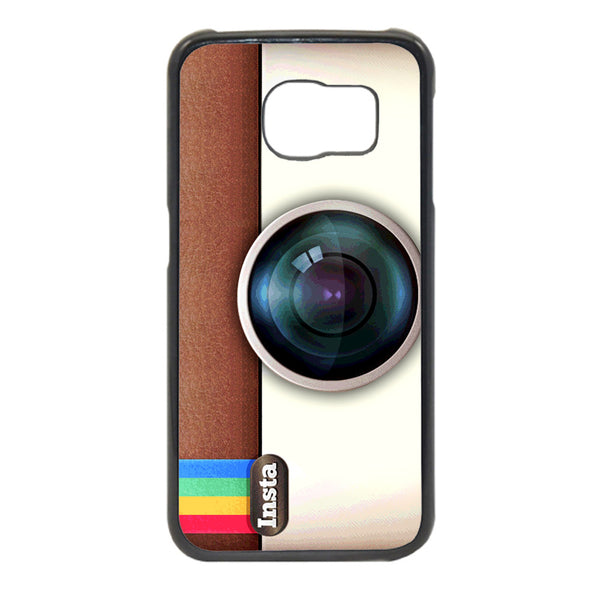 Insta Camera Texture Phonecase for Samsung Galaxy S6