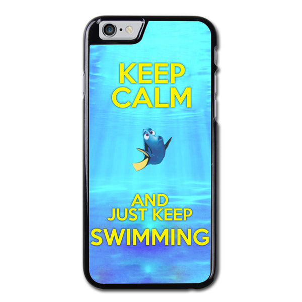 Keep Calm and Just Keep Swimming Phonecase for iPhone 6/6S Case