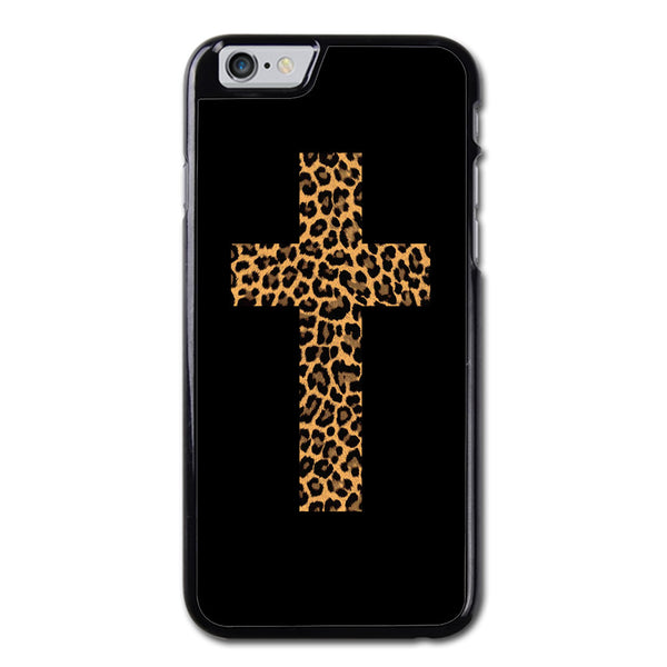 Leopard Cross Phonecase for iPhone 6/6S Plus Case