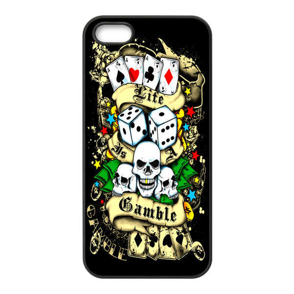 Life's a Gamble Phonecase for iPhone 5/5S