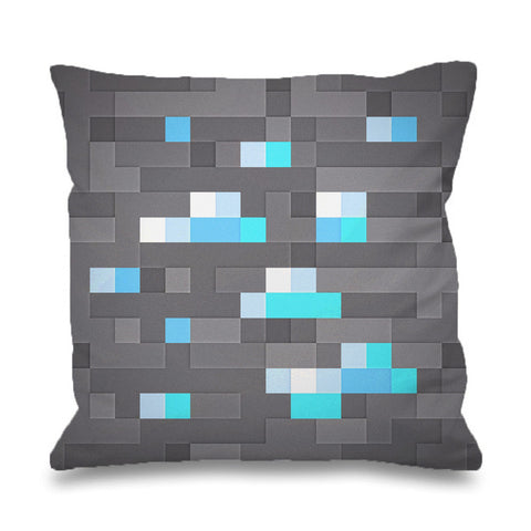 Minecraft Diamond Pattern Pillowcases Pillow Cases