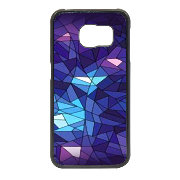 Mosaic Blue Pattern Phonecase for Samsung Galaxy S6