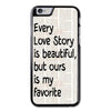 Quote Love Phonecase for iPhone 6/6S