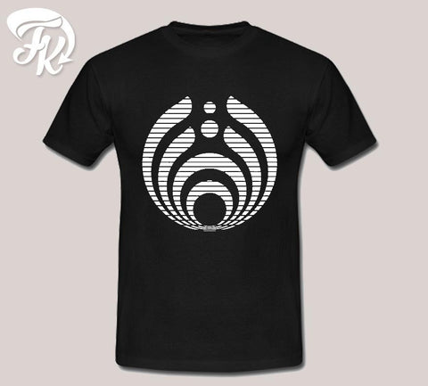 Bassnectar Basic Strip Logo Design Men or Unisex T-Shirt