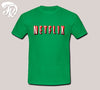 Netfilx Logo Design Men or Unisex T-Shirt