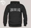 BW Netfilx Logo Design Hoodie for men or Unisex