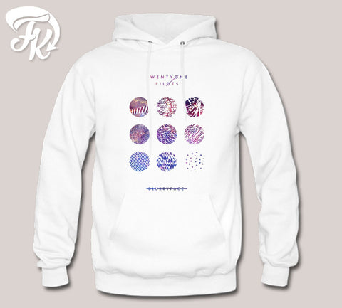 Twenty One Pilots Blurryface Galaxy Design Hoodie for men or Unisex