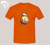 Star Wars Bb-8 Design Men or Unisex T-Shirt