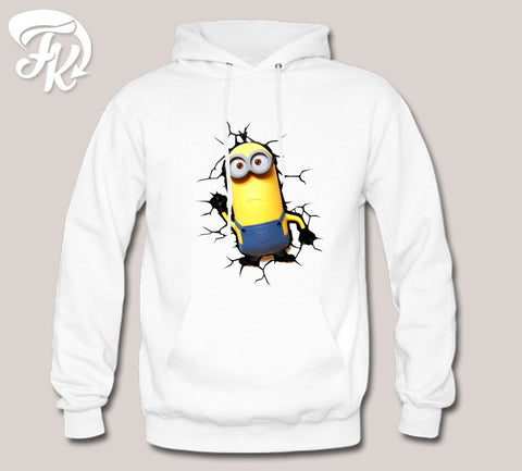 Kevin Minions Design Hoodie for men or Unisex