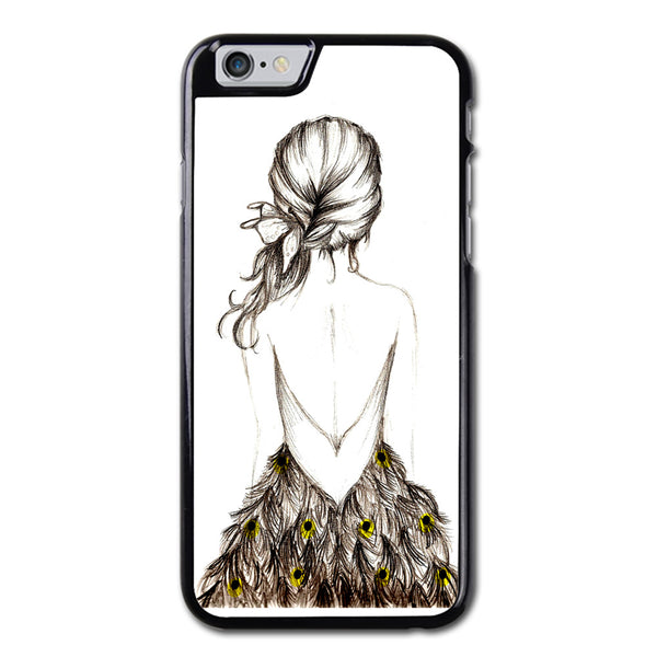 The Peacock Figure Phonecase for iPhone 6/6S Case