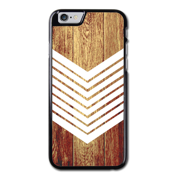 White Arrow on Wood Phonecase for iPhone 6/6S Case