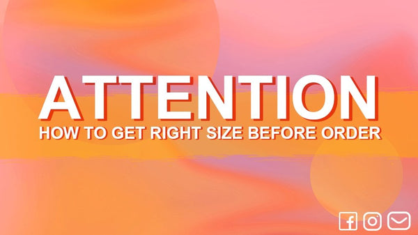 ATTENTION: HOW TO GET RIGHT SIZE BEFORE ORDER | Xcoser International Costume Ltd.