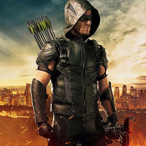 xcoser green arrow costume
