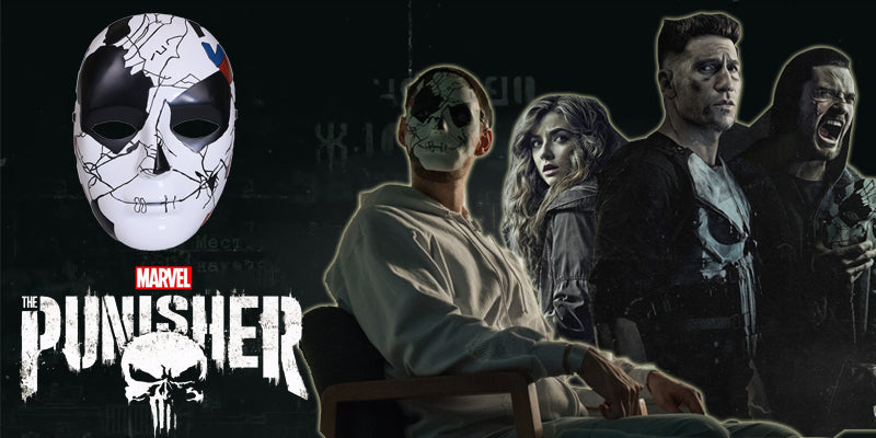 The Punisher Season 2 Billy Russo Mask