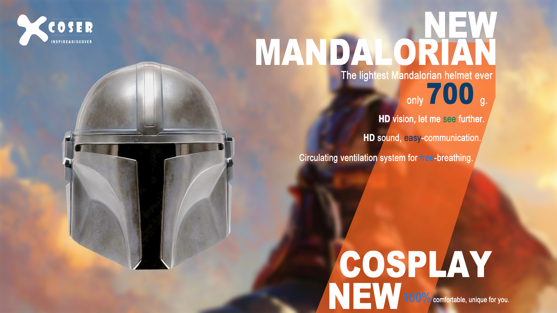 Mandalorian Helmet Features