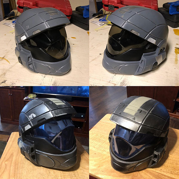 halo 3 odst resin helmet replica