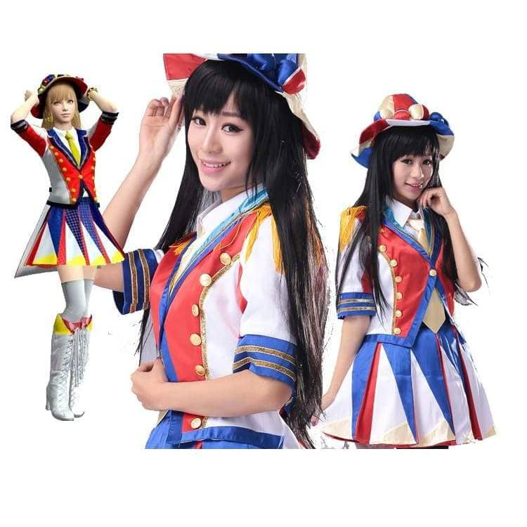 Akb48 Costume Japanese Idol Girl Group Akb48 School Uniform - Costumes 1