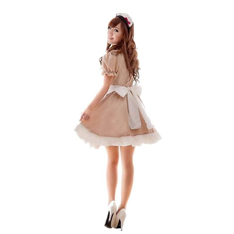 Anime Cosplay Maid Costume Sweet Waitress Performance Fancy Dress - Costumes 2
