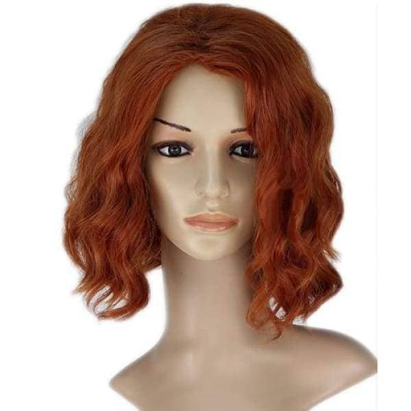 Black Widow Wig Avengers Cosplay Short Wavy - Wigs 1