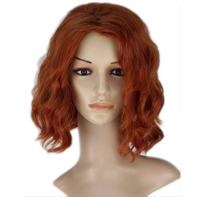 Black Widow Wig Avengers Cosplay Short Wavy - Wigs 2