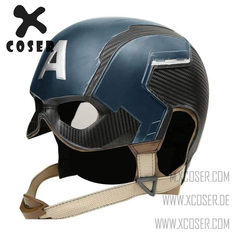 Captain A Helmet All by handmade Cosplay Mask 1:1 Replica 100% Premiere quality - Xcoser International Costume Ltd.