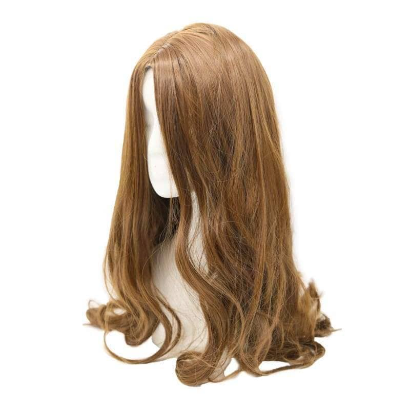 Captain America: Civil War Scarlet Witch Wig Long Brown Wavy Cosplay - Wigs 2