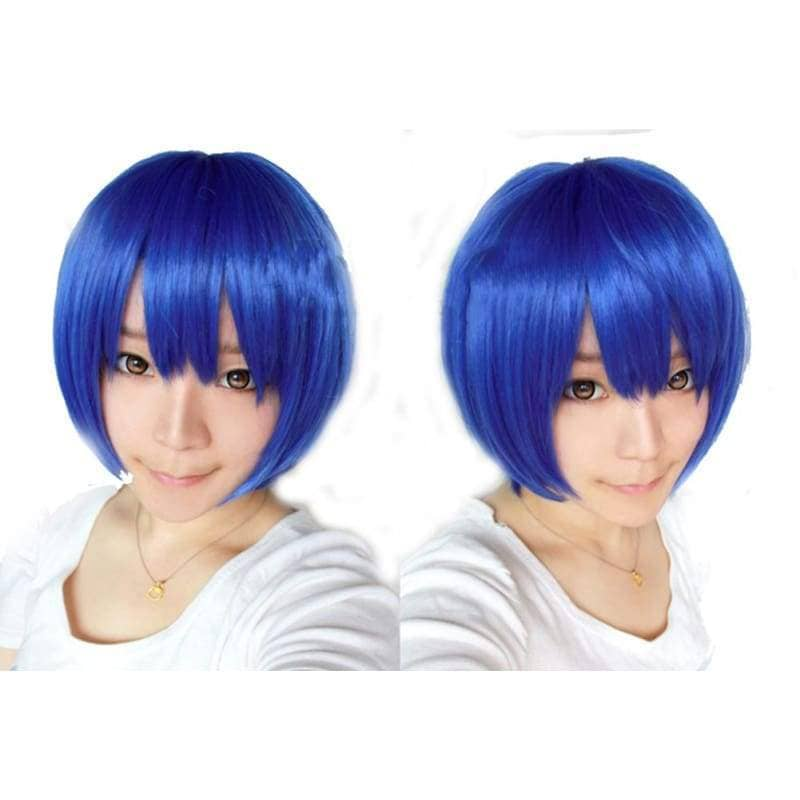 Coraline Wig Blue Short Straight Wig For Cosplay Halloween Party Meilleur Par Xcoser International Cosplay Costume Xcoser International Cosplay Costume Ltd