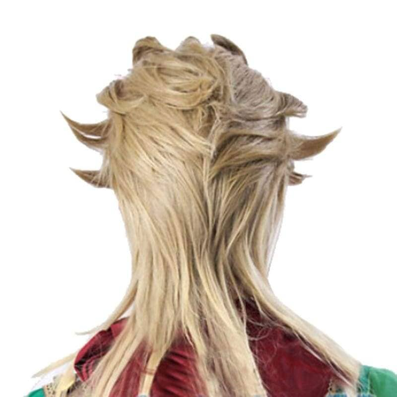 Dio Brando Wig Short Light Golden Cosplay Anime 45cm Jojo's Bizarre Adventure - Wigs 2