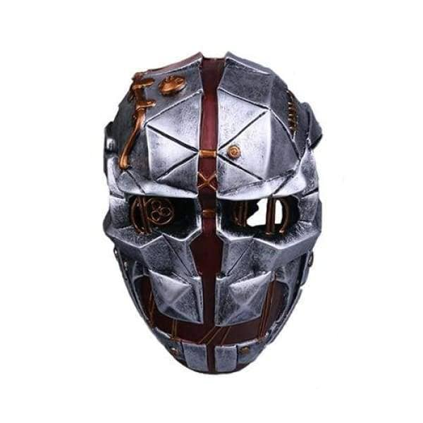 Dishonored 2 Corvo Attano Mask Gray Fiberglass Mask for Halloween Cosplay Mask- Xcoser International Costume Ltd.