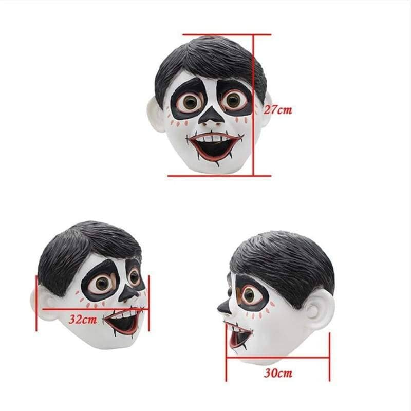 Halloween Cosplay Coco Miguel Cosplay Mask, Mask- Pro Cosplay Shop Customer Service in Xcoser - Costume - Helmets