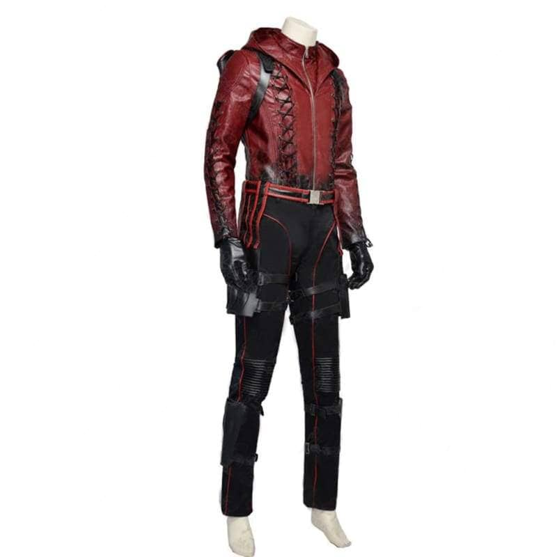 Halloween Cosplay Red Arrow Roy Harper Pu Costume - Costumes 2