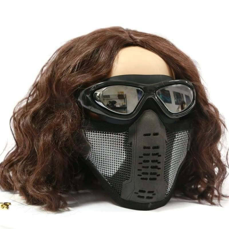 Halloween Cosplay Xcoser Captain America: the Winter Soldier Mask Replica - 4