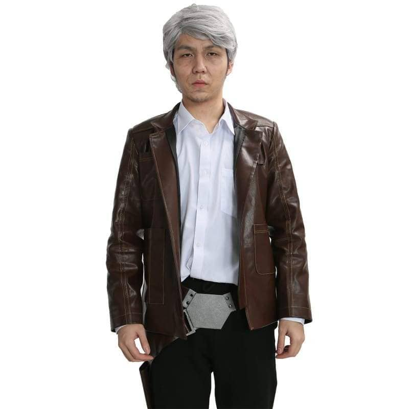 Han Solo Costume Star Wars 7 The Force Awakens Cosplay Movie Version With Belt Holster  - Costumes