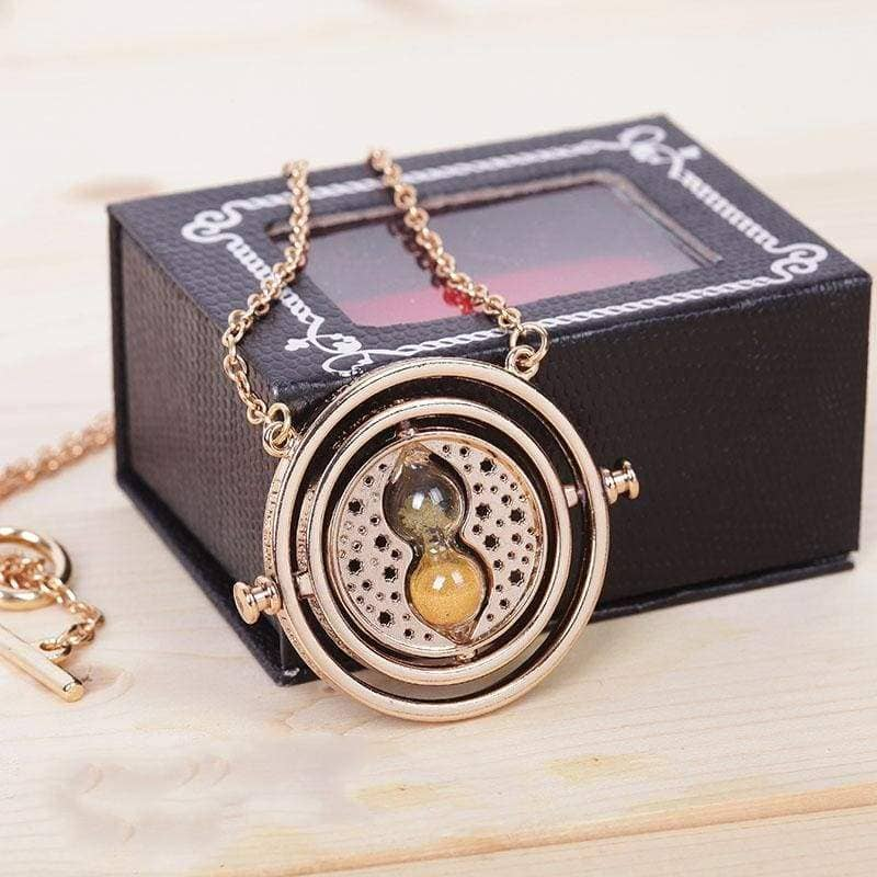 Harry Potter Golden Snitch Time-Turner Necklace Keychain Cosplay Accessory OthersNecklace- Xcoser International Costume Ltd.