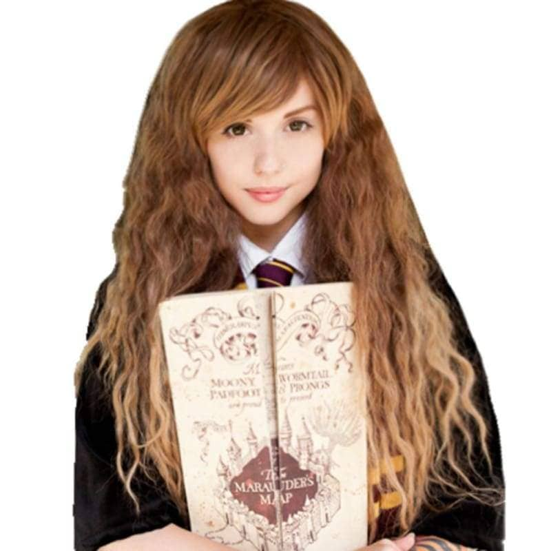 Hermione Wig Harry Potter Granger Long Wavy Brown Costume - Wigs 1