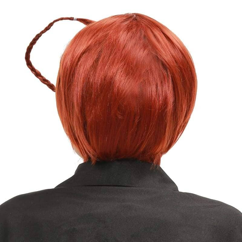 Hetalia North Italy Wig Axis Powers Feliciano Vargas Cosplay Short Brown - Wigs 3