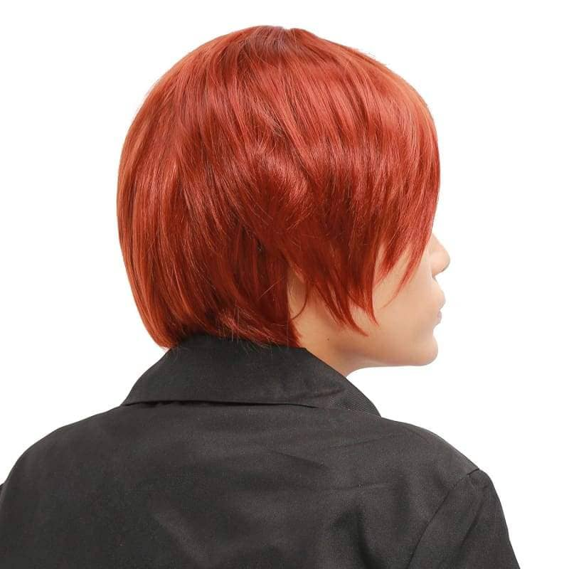 Hetalia North Italy Wig Axis Powers Feliciano Vargas Cosplay Short Brown - Wigs 4
