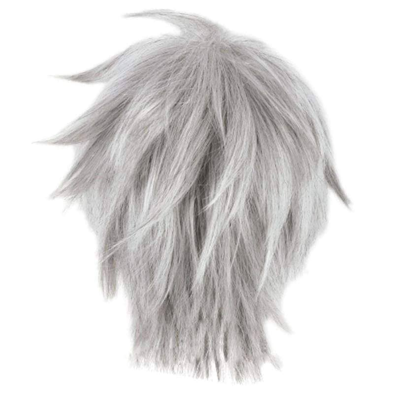 Jack Frost Wig Rise Of The Guardians Cosplay Short Silver Gray - Wigs 2