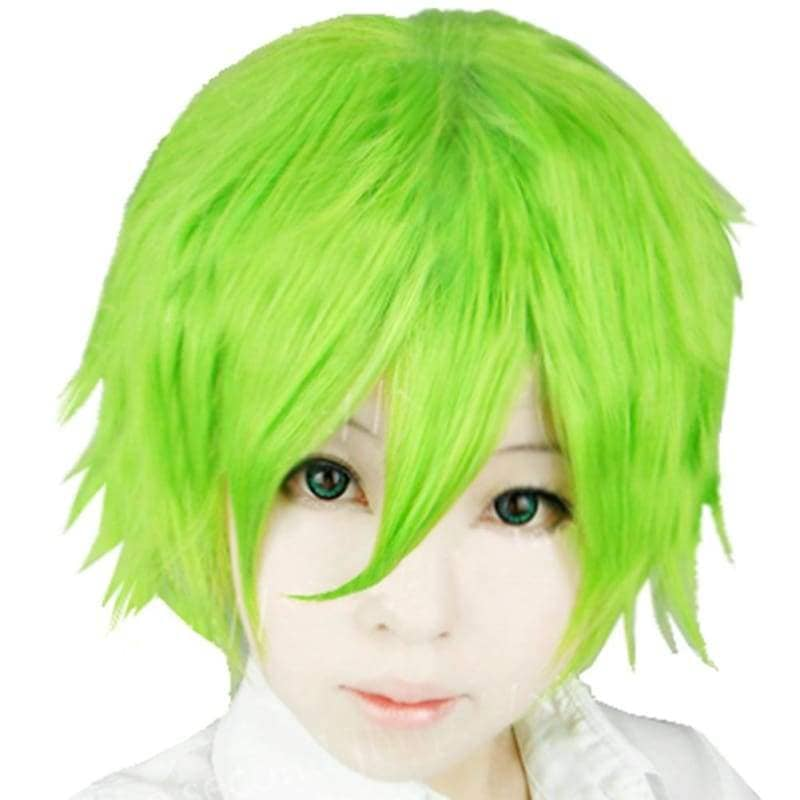 Keimi Wig One Piece Cosplay Short Green Synthetic Anime - Wigs 1