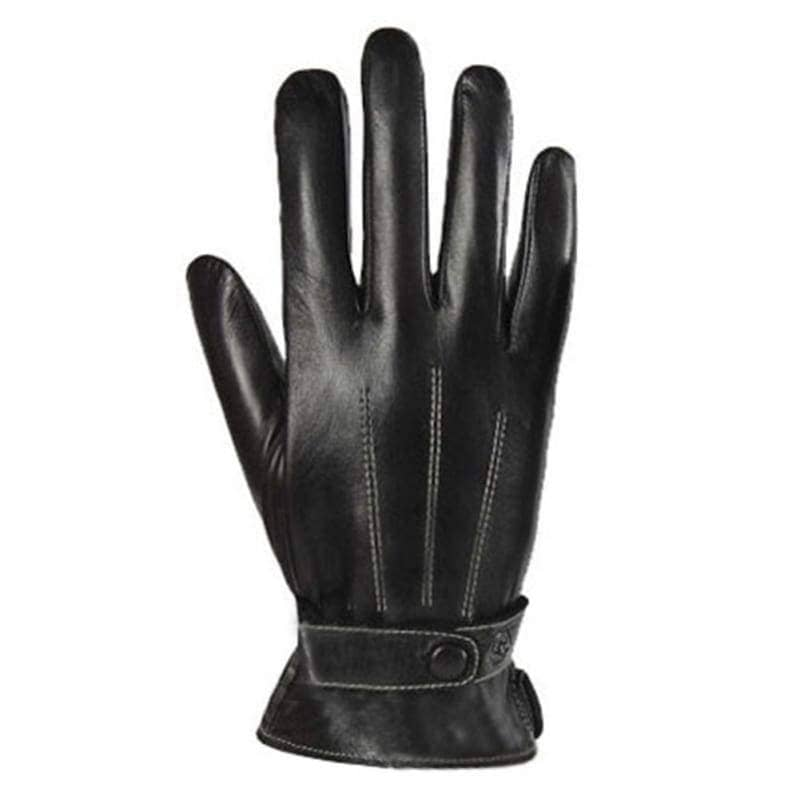 Kylo Ren Gloves Star Wars Cosplay Pu Black Smart Touch Screen Winter For Men - Props 2