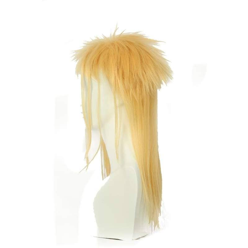 Labyrinth Jareth Particular Hairstyle Wig Long Blonde Cosplay - Wigs 3